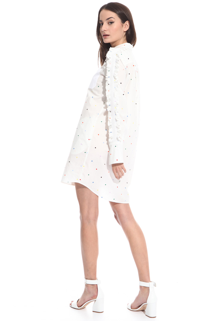 Frilled short dress Intrend