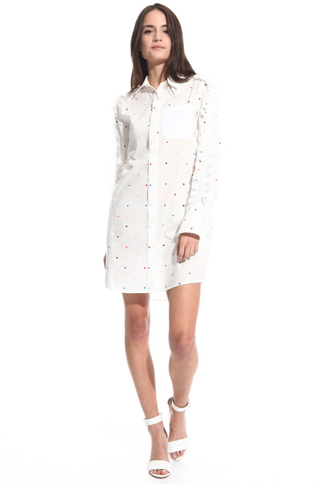 Frilled short dress Diffusione Tessile