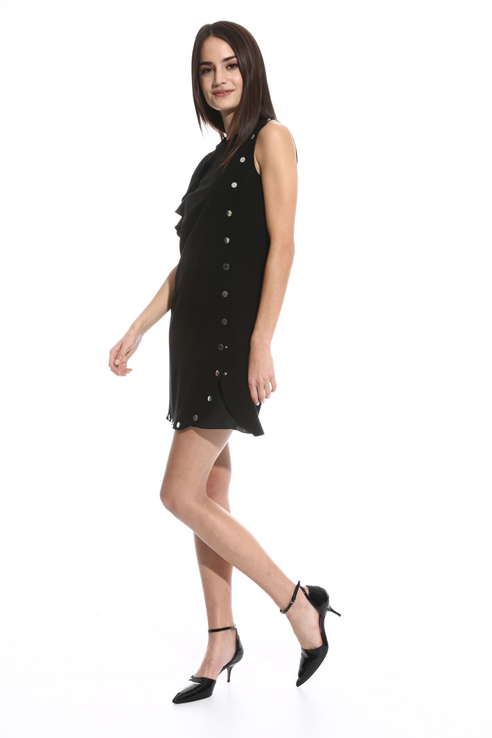 Buttoned mini dress Intrend