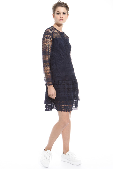 Short macramé dress Intrend