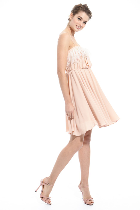 Georgette feather dress Diffusione Tessile