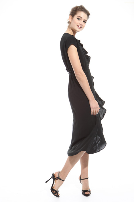 Long wrap-up dress Intrend