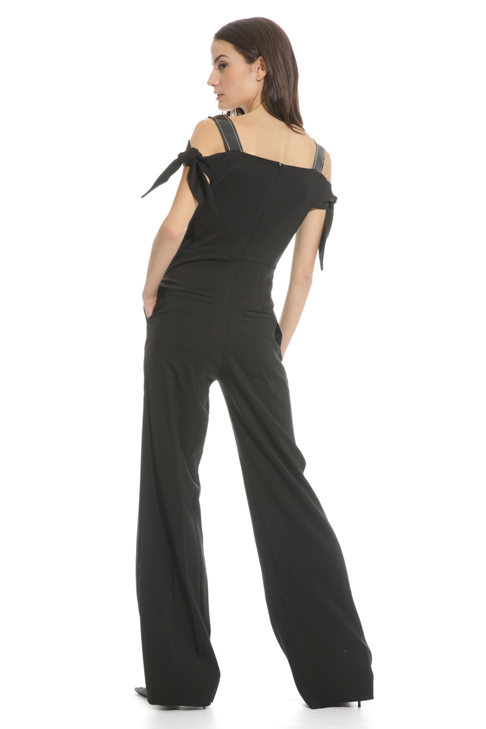 Viscose canvas jumpsuit Intrend