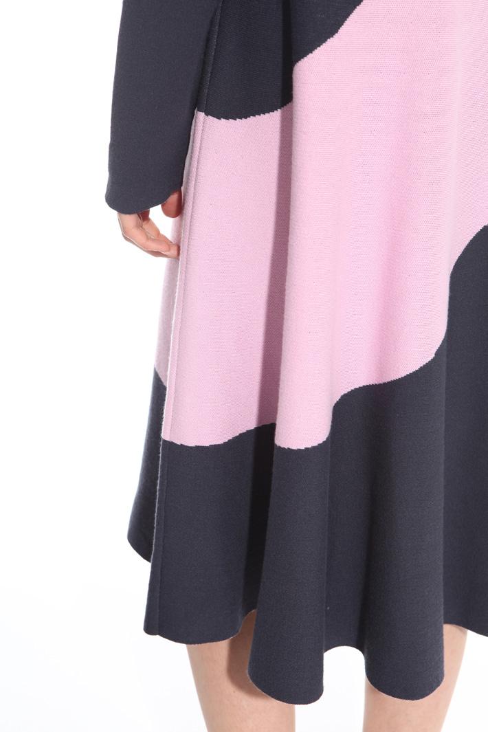 Colour-block dress Intrend
