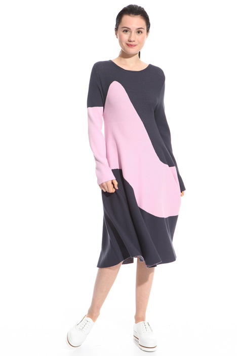 Colour-block dress Intrend