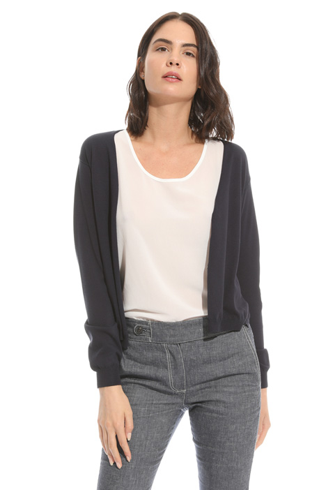 Stretch viscose cardigan Intrend