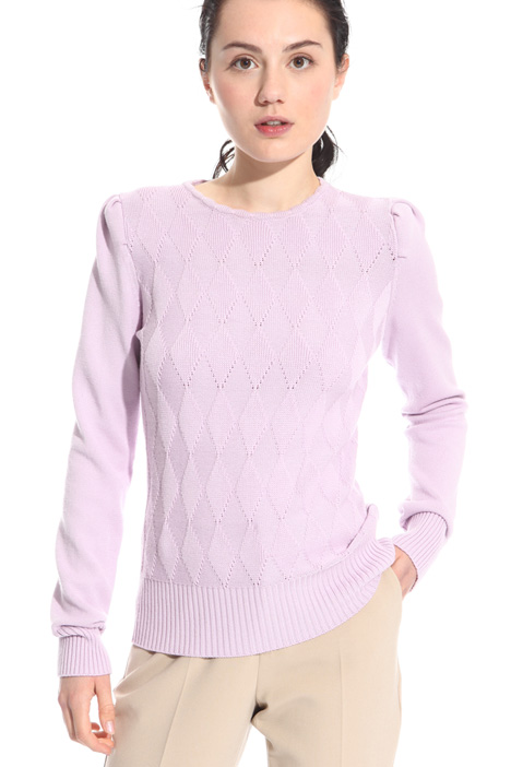 Puff shoulder sweater Intrend