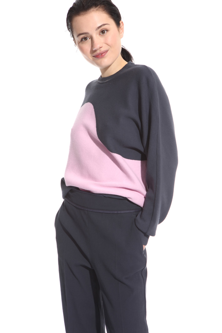 Colour-block sweater Intrend