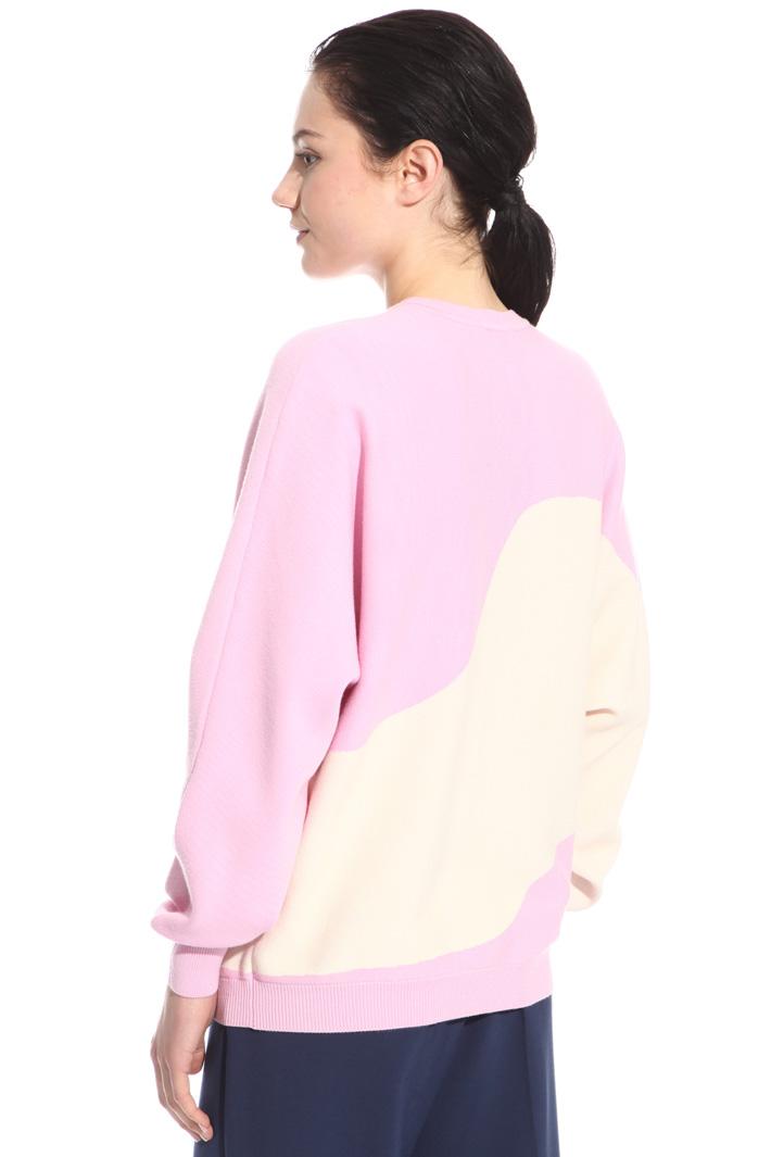 Colour-block sweater Intrend