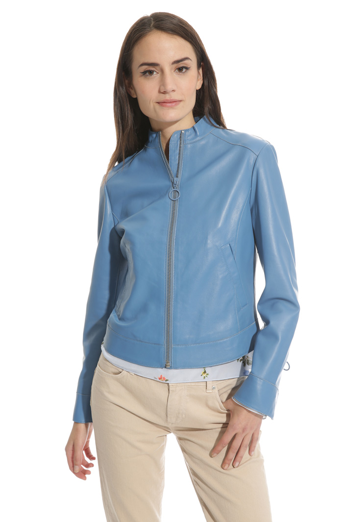 Genuine leather jacket Intrend