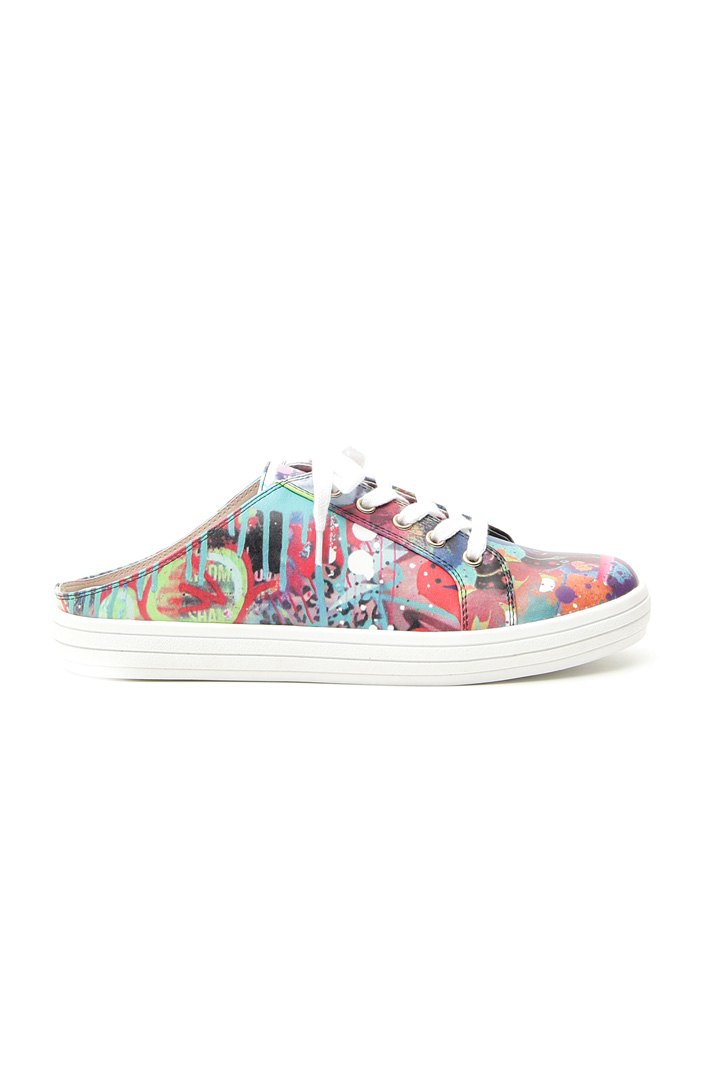 Sneakers sabot stampate Intrend