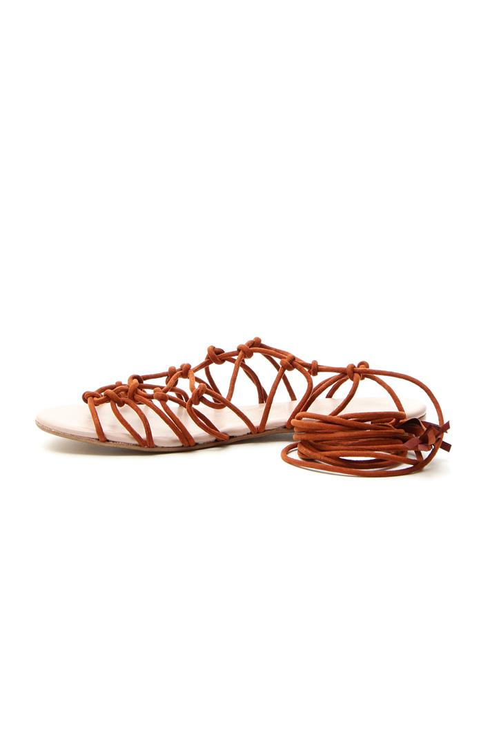 Sandalo corda intrecciata Intrend