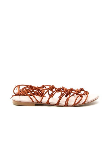 Braided laced sandals Diffusione Tessile