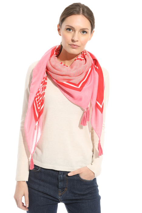 Geometrical pattern foulard Intrend