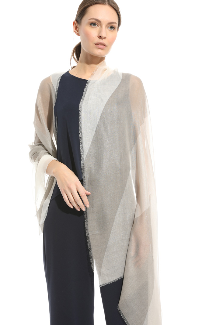Wet-effect scarf Intrend