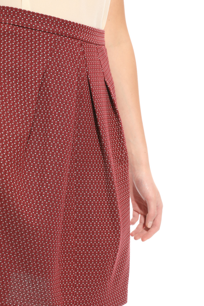 Gonna in jersey jacquard Intrend