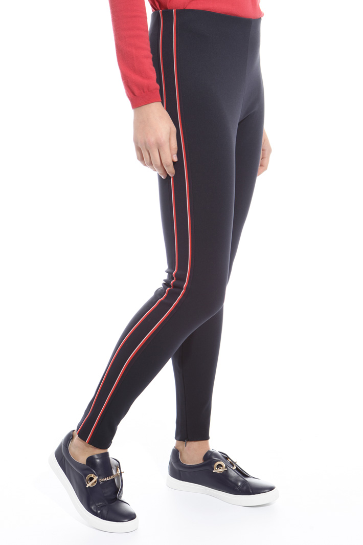 Leggings in jersey tecnico Intrend