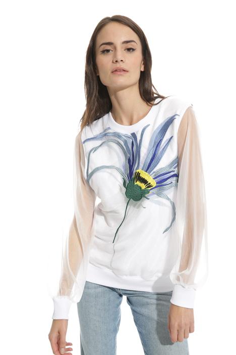 Puffed sleeve sweatshirt Diffusione Tessile