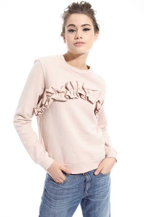Ruffle sweatshirt Intrend