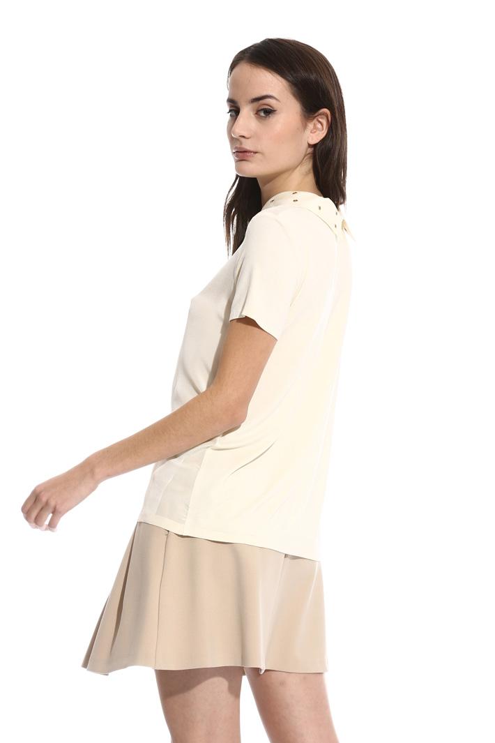T-shirt con collo removibile Intrend