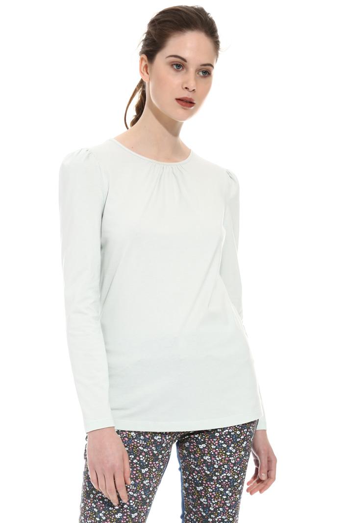 T-shirt con maniche a sbuffo Intrend
