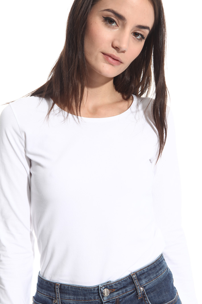 T-shirt in jersey di cotone Intrend