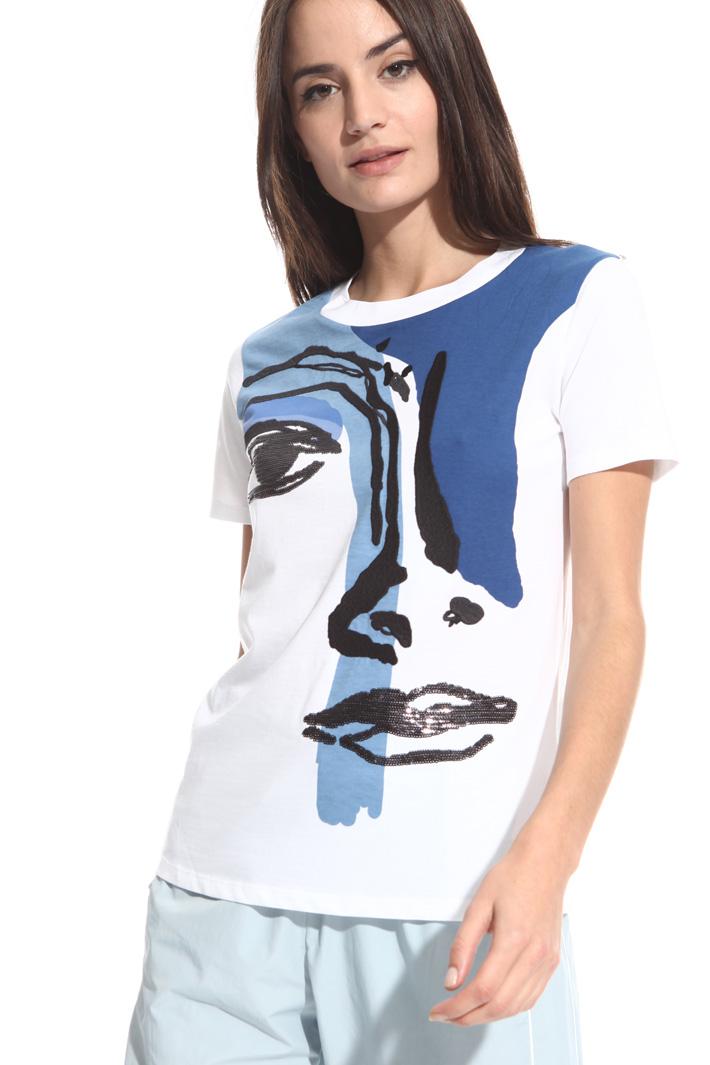T-shirt a fantasia Intrend