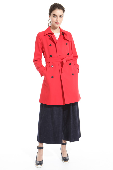 Double cotton trench Intrend