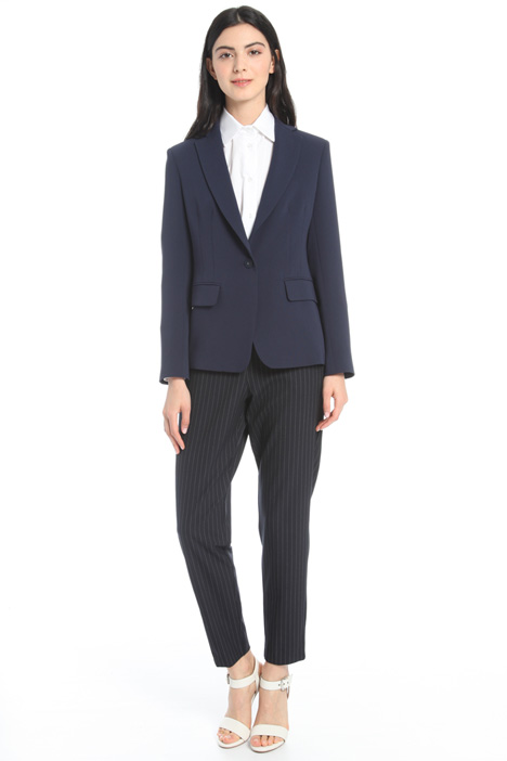 Fitted triacetate blazer Intrend