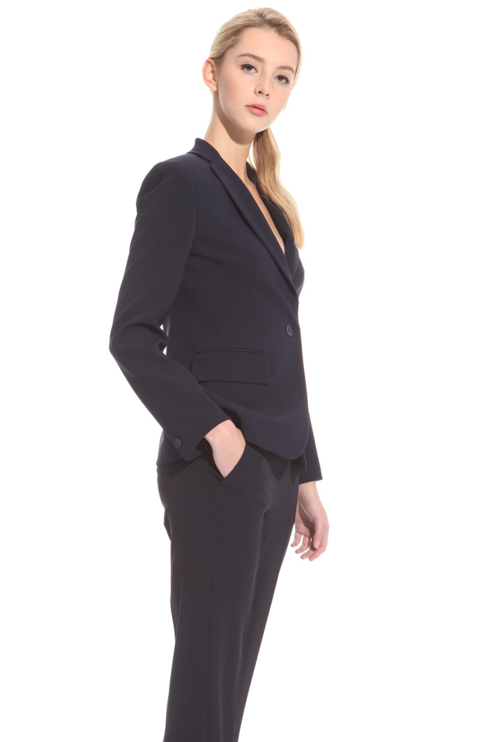 Blazer in cady triacetato Intrend