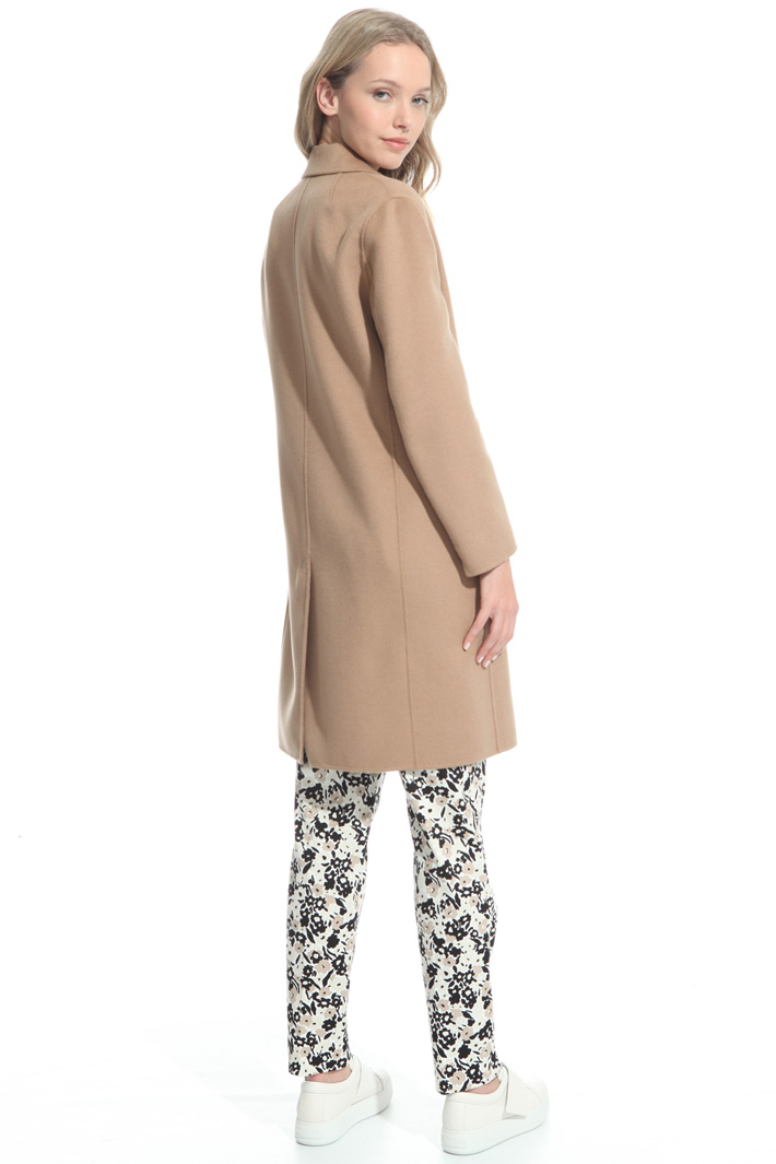 Cappotto in lana double Intrend