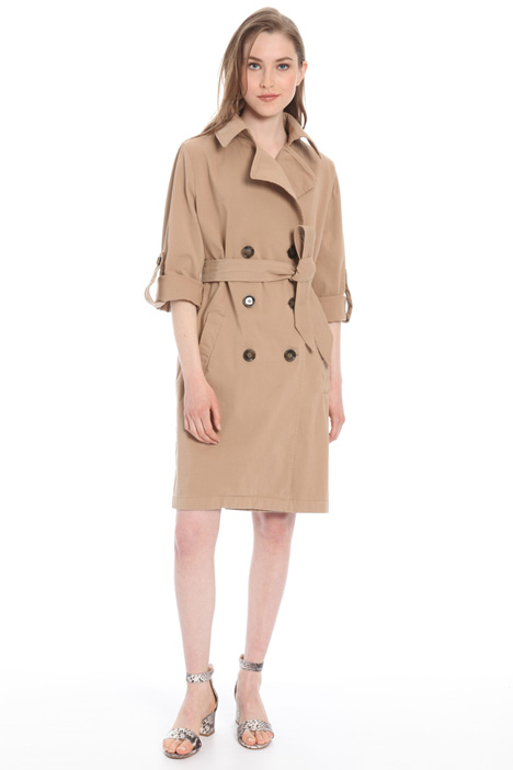 Loose fit cotton trench Intrend