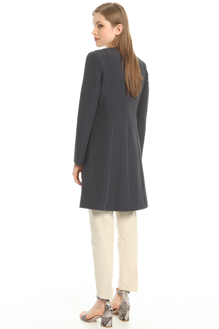 Slub duster coat Intrend