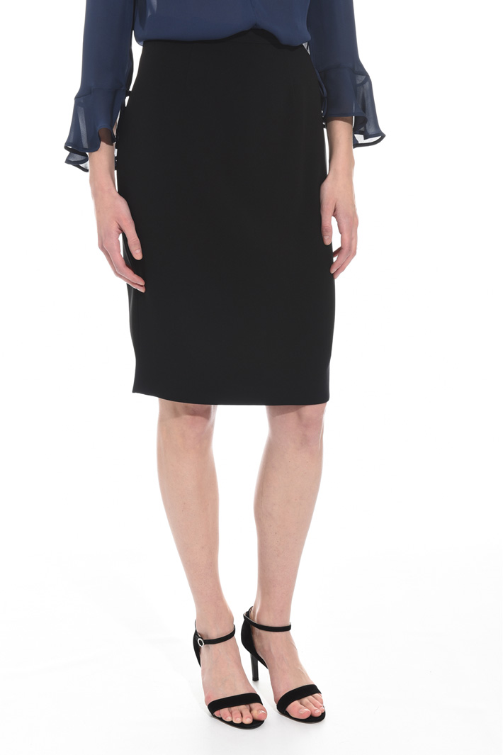 Triacetate pencil skirt Intrend