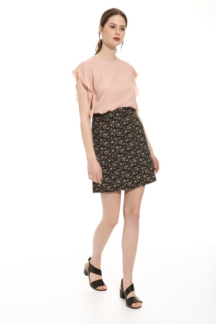 Stretch pique skirt Intrend