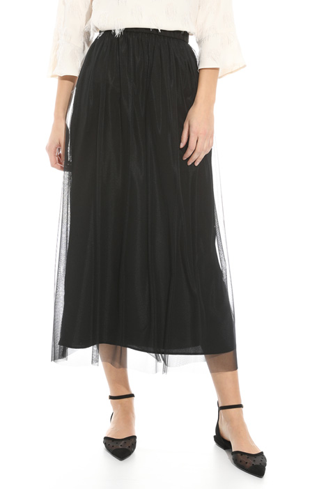 Gonna in tulle stretch Intrend
