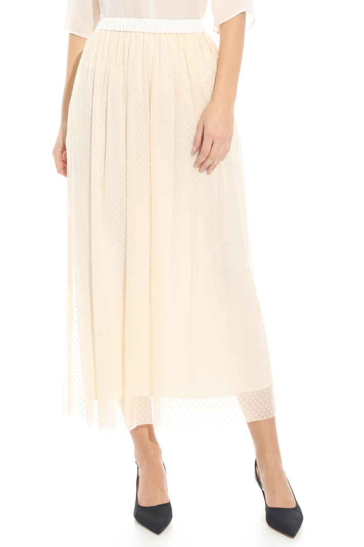 Fil coupé tulle skirt Intrend