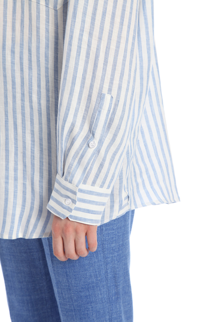 Oversized linen shirt Intrend