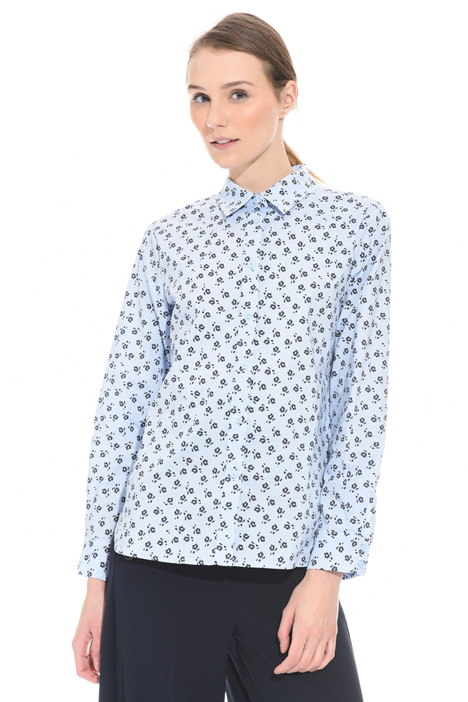 Stretch poplin shirt Intrend