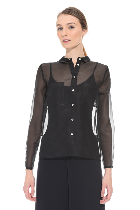 Silk organza shirt Intrend