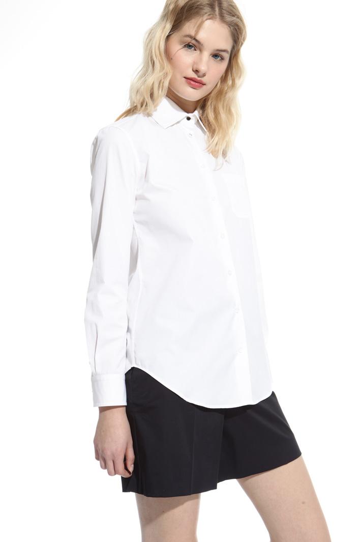 Poplin shirt Intrend
