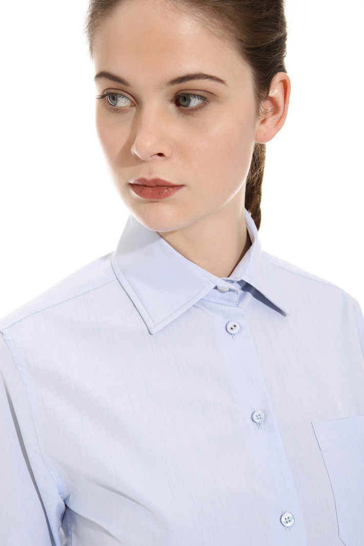Camicia in popeline Intrend