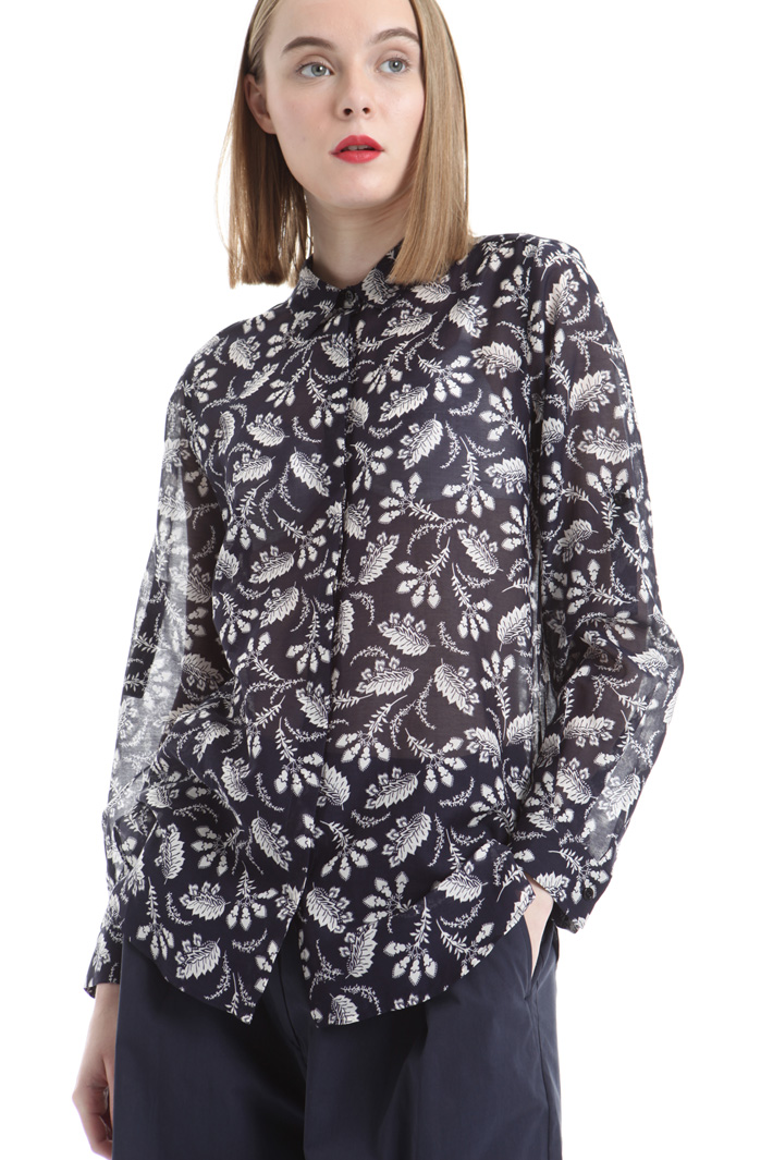 Printed voilé shirt Intrend