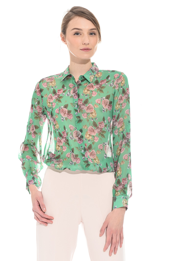 Silk chiffon shirt Intrend
