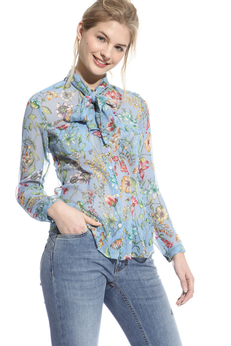 Silk crepon shirt Intrend