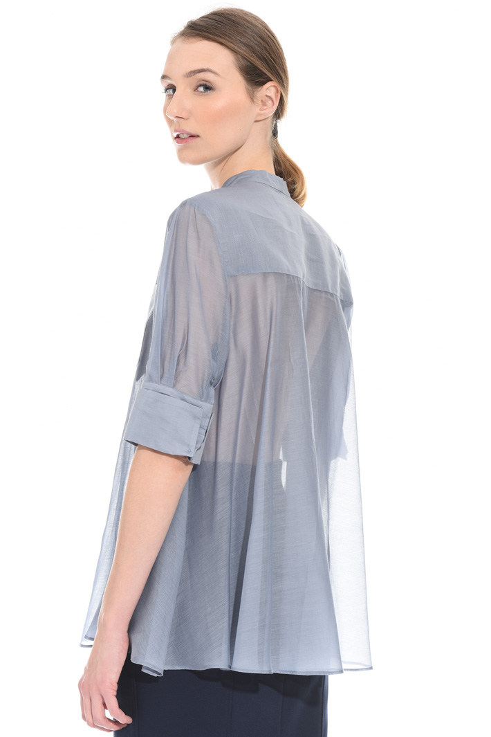 Cotton organza shirt Intrend