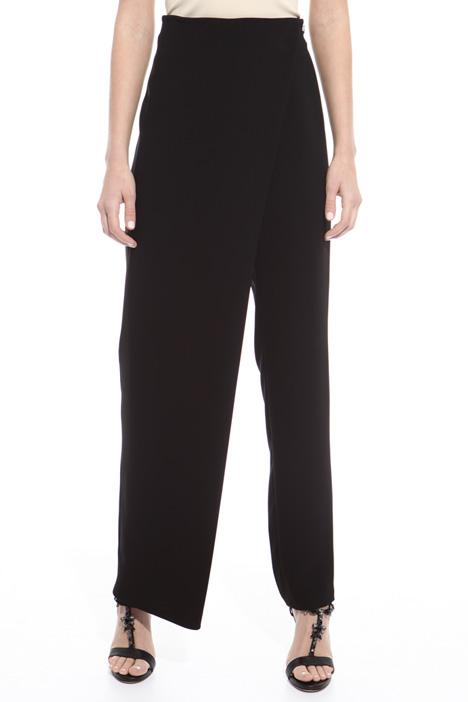 Pantalone lungo asimmetrico Diffusione Tessile