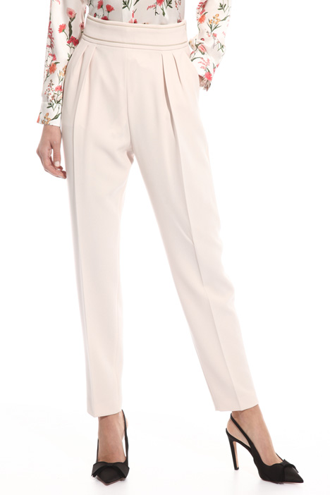 Triacetate trousers Diffusione Tessile
