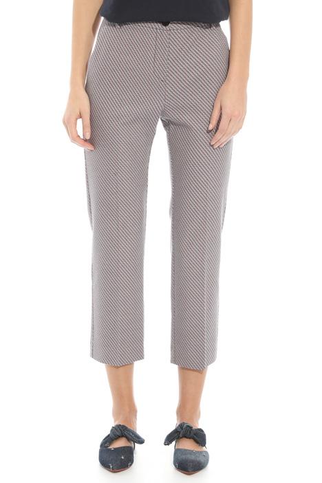 Pantalone in tessuto stuoia Diffusione Tessile