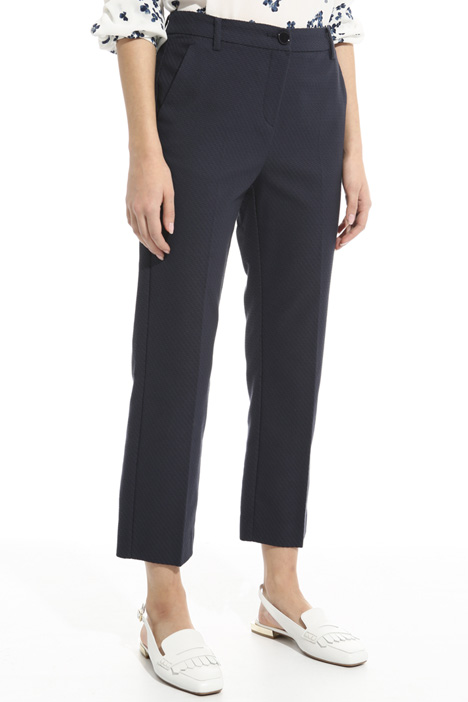 Interwoven fabric trousers Diffusione Tessile